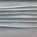 Achrome, 1959 circa tela grinzata e caolino, 50x69,5 cm Fondazione Piero Manzoni