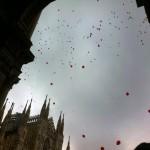 Il cielo in piazza Duomo