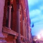 Università Statale di Milano, la facciata del Filarete