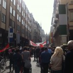 Festa di Liberazione passa per corso Vittorio Emanuele.