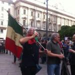 Partigiani brindano alla Liberazione
