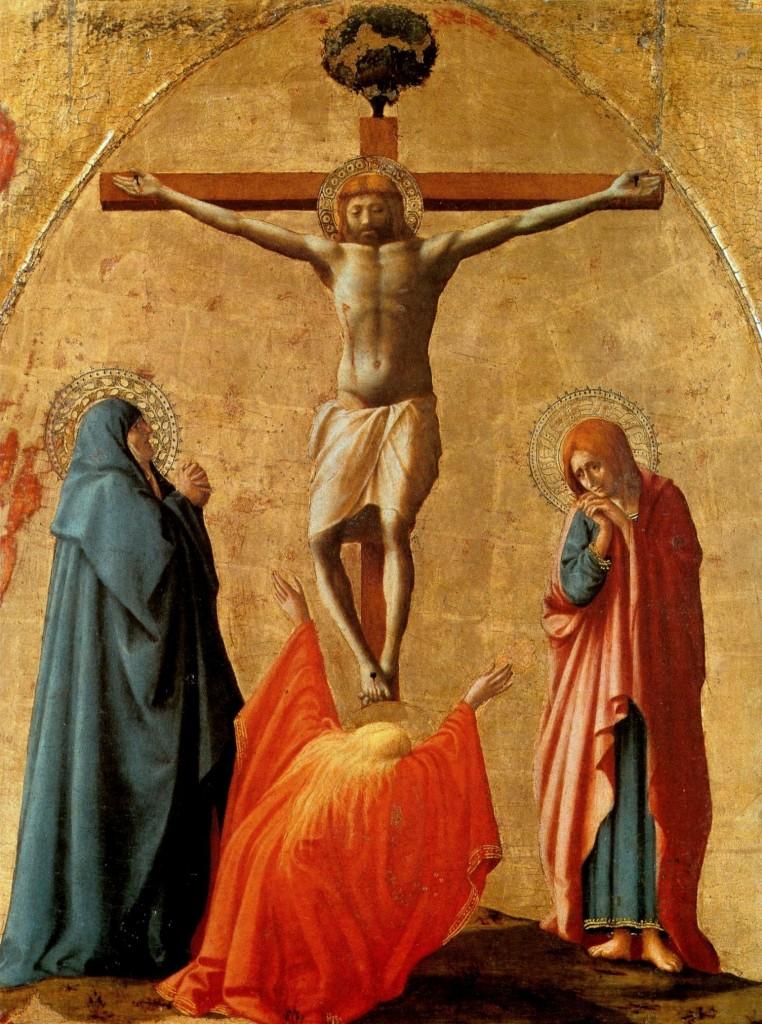 Masaccio - Crocifissione