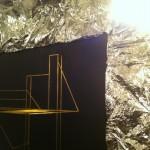 Berlin reflect, Foldwork - Drying rack