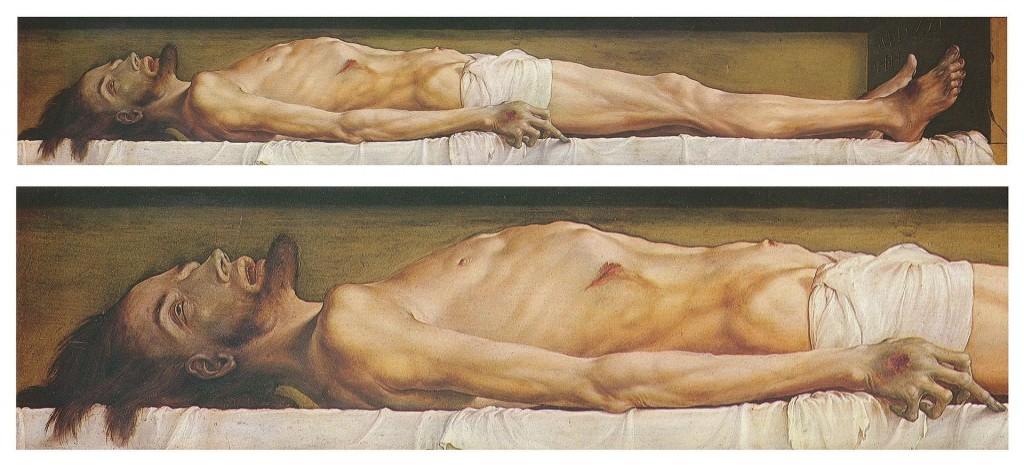 Holbein-Cristo morto