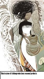 Enrica (Illustrazione di Gollumproductions seasonal products)