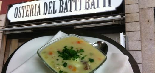 zuppa osteria del batti batti
