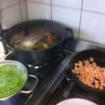 Ingredienti cous cous di pesce e verdure