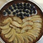 Crostata vegan alla frutta pronta