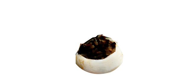 seppia ripiena con riso nero