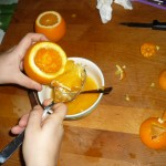 zucche-arance di Halloween