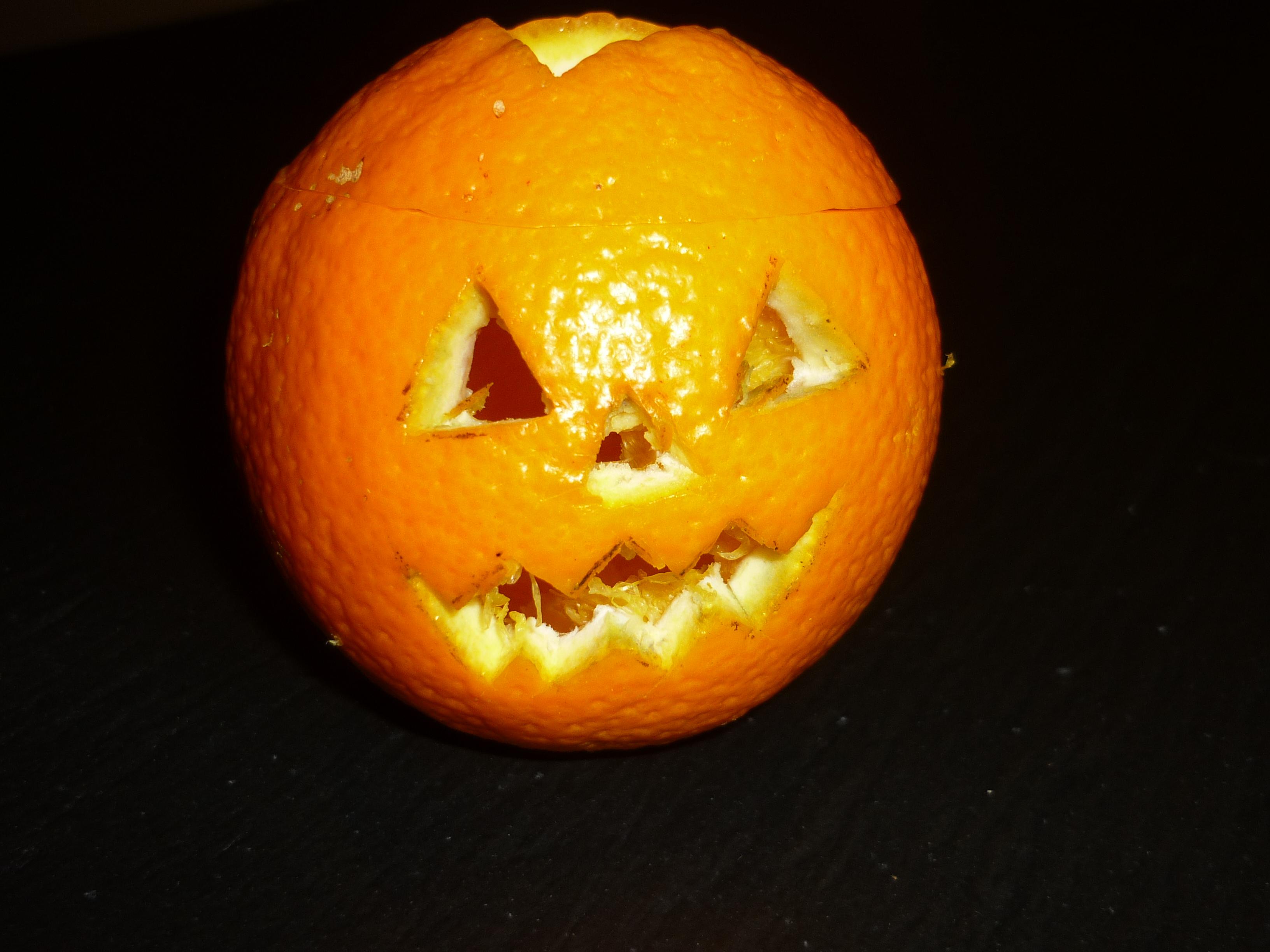 Zucche di halloween le faccio con le arance alimentarmente for Immagini zucche halloween