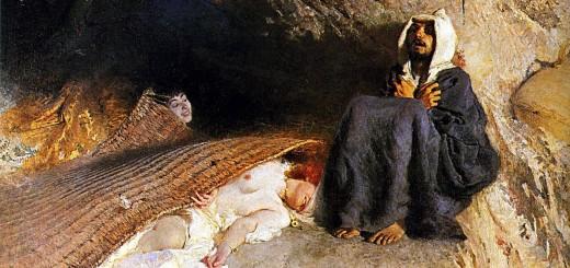 Domenico Morelli, Le tentazioni di sant'Antonio