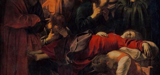 Caravaggio_-_La_Morte_della_Vergine