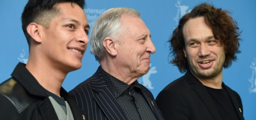 'Eisenstein in Messico':Luis Alberti (Palomino), il regista Peter Greenaway e Elmer Back (Eisenstein) , foto dal 65mo Film festival iternationale di Berlino . (Feb. 10, 2015 - Fonte: Pascal Le Segretain/Getty Images Europe).
