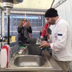 maizena e acqua clorofillata