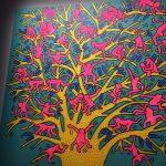 L'albero delle scimmie, 1984.