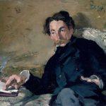 Édouard Manet Stéhane Mallarmé, 1876 Ol io su tela, 27,2 x 35,7 cm Parigi,Ojéda / RMN-Réunion des Musées Nationaux/ distr. AMusée d'Orsay © René-Gabirel linarip