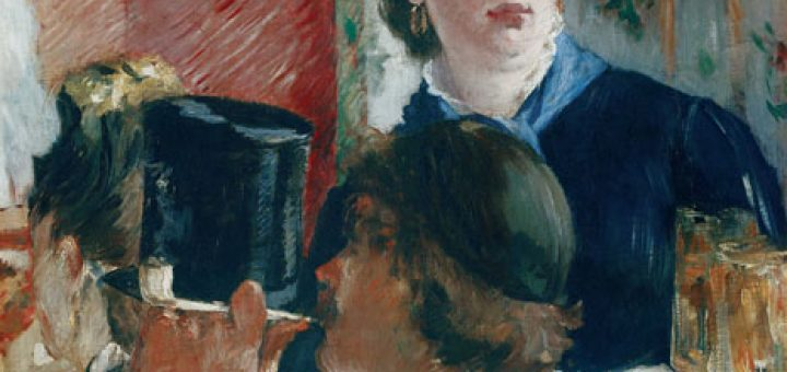 Édouard Manet La cameriera della birreria, 1878-1879 Olio su tela, 77 x 64,5 cm Parigi, Musée d'Orsay © René-Gabriel Ojéda / RMN-Réunion des Musées Nationaux/ distr. Alinari