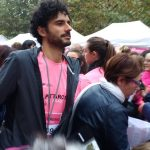 Marco Bianchi alla Pink parade 2017