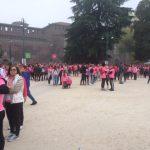 Castello Sforzesco si tinge di rosa.