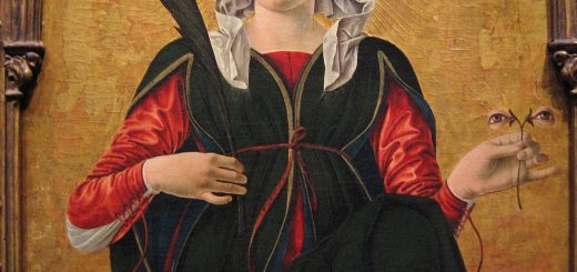 Francesco del Cossa, santa Lucia