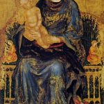 Gentile Fabriano, MAdonna con bambino