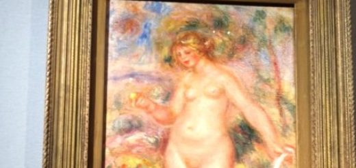 Pierre-Auguste Renoir, Bagnante, 1917-1918. olio su tela. Collezione Louise e Walter Arensberg