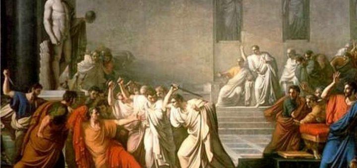 Vincenzo Camuccini, Morte di Giulio Cesare