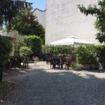 Giardino di villa Lecchi , oggi Pallavicini