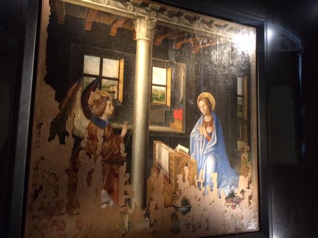 Antonello da Messina, Annunciazione in Palazzo Bellomo