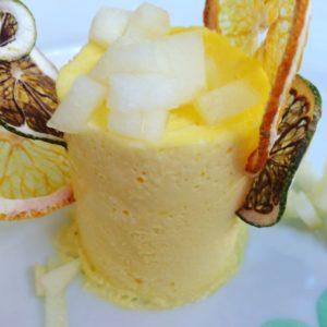 Semifreddo di mela ai Banchi